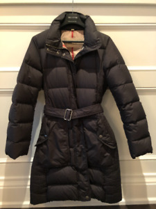 Burberry Brit Women's Detachable Hood Down-filled Puffer Coat