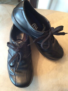 Black Walking Shoes - Size 6