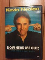 Kevin Nealon Now Hear Me Out DVD for $9