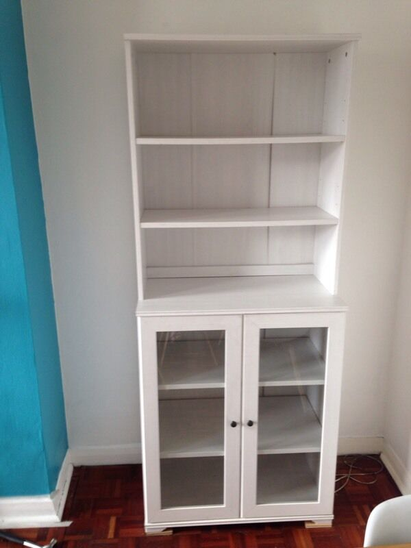 White IKEA French dresser storage display cabinet | in Streatham, London | Gumtree