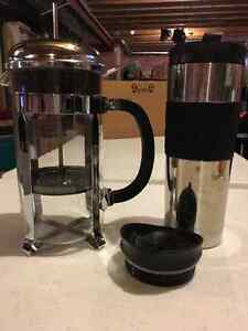 Set of Bodum Coffee Presses