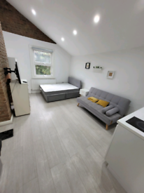 Ensuite studio Perfect for Parent and child To Let in Camden Fully fur