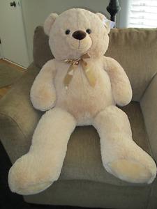3' tall teddy bear