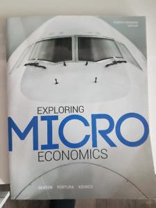 Microeconomics book for sale