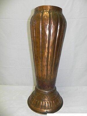 Art Deco Kupfervase Bodenvase Vase  Ägypten Handarbeit Kupfer Vasen Schirmstände