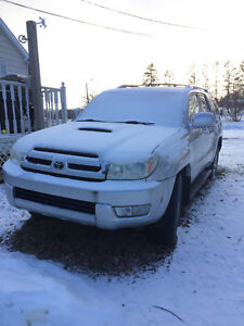 2004 Toyota 4Runner For parts