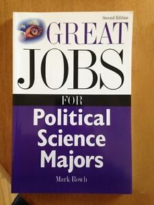 For Sale: Great Jobs for Political Science Majors (2nd Edition)