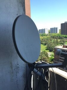 Satellite dish with LNB (FTA) for sale