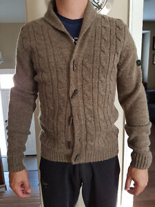 Fitted Brown Cardigan/Sweater Prince George British Columbia image 1