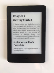 """Kindle Paperwhite 6"""" High-Resolution with built-in light, Wi-Fi"""
