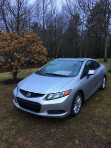 2012 Honda Civic Coupe (2 door) Automatic