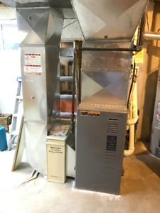 Furnace, Air Conditioner and Power Humidifier for Sale
