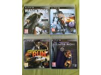 4 Games for PlayStation 3