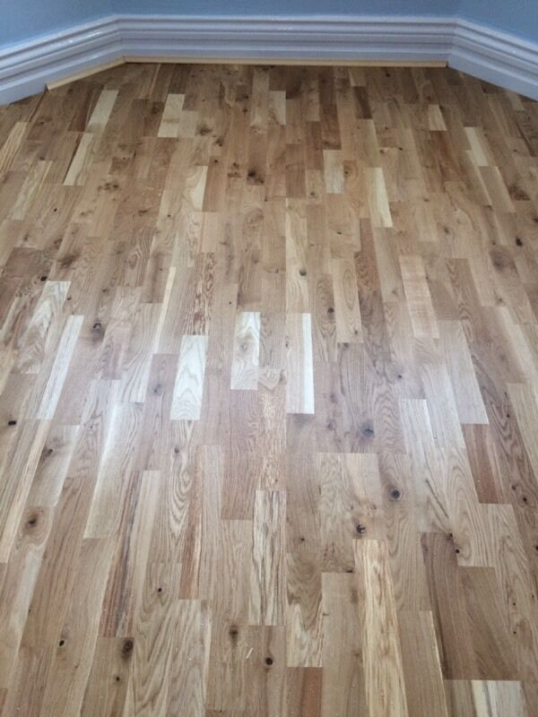 Kahrs Oak Trento 3 Strip Wood Flooring In North Shields Tyne And