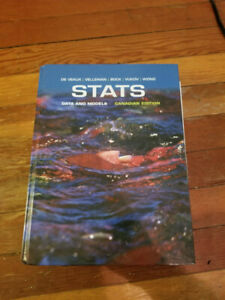 STATS: Data & Models Canadian Edition - USED