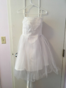 White Gown Size 6