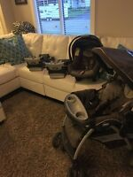 Chicco travel system with 2 bases