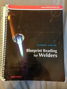 $80 OBO - Blueprint Reading for Welders (8th Edition) Textbook