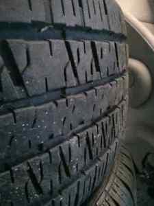 Set of 4 kia 4x114.3 rims on all season 205/55R16 Tires Windsor Region Ontario image 6