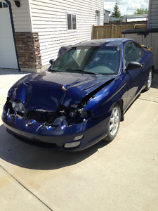 2001 Hyundai Tiburon Coupe (2 door)