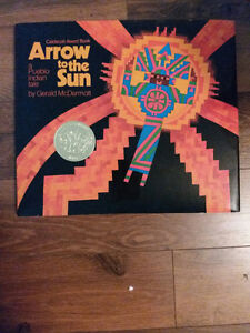 Hard Cover Picture Book Arrow to the Sun