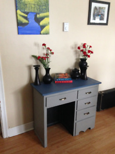 Fantastic refinished desk perfect for apartment or condo!