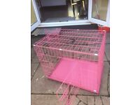 Large collapsable dog crate