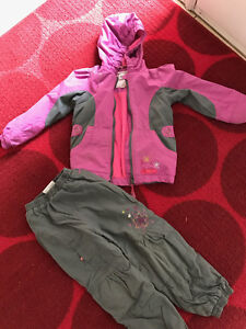 Girl size 5 spring suit