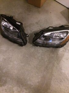 Mercedes C300 headlights