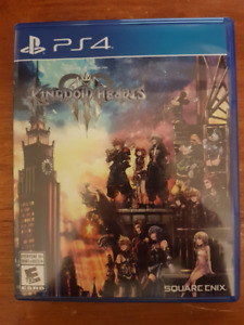 Kingdom Hearts 3 (PS4) in excellent condition