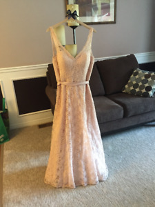Beautiful, Blush Bridesmaids Dress - Worn Once!