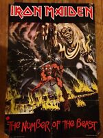 Obituary and Iron Maiden original posters