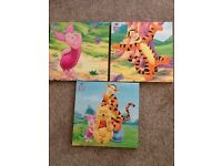 Winnie the Pooh canvasses