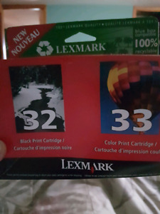 Lexmark Ink Cartridges.