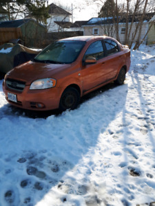 2007 Chevy Aveo with two sets of tires