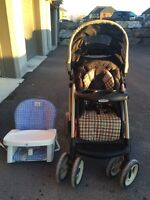Graco Stroller and high chair