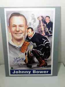 JOHNNY BOWER SIGNED