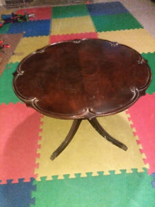 Antique Walnut coffee table by Gibbard!