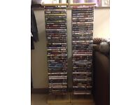 DVDs and stands