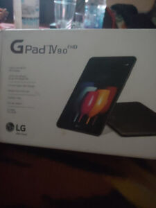 LG Gpad IV 8.0 FHD + Box + Charger + Case + Screen Protector