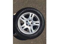 Land Rover/Range Rover alloy wheels c/w Pirelli Scorpion Zero tyres
