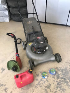 Lawn Mower and Accessories