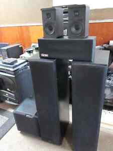 COMPLETE 5.1 HOME THEATER SPEAKER SYSTEM
