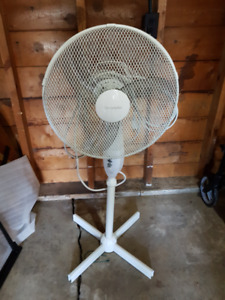Two Stand Up Electric Fans