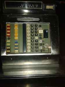 Antique Sweda Cash Register
