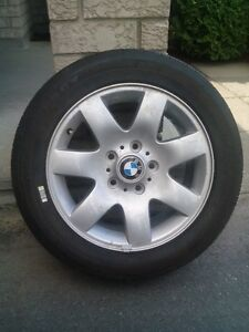 Alloy rim R16 for BMW series 3 with new tire Michelin Energy