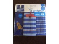 Boys next bedsets and curtains