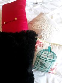 Cushions, variety £3 each