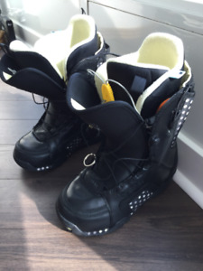 Burton snowboard boots - Women's size 7 barely used!