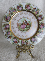 Vintage Fine  China Plate Made in Japan SAJI.Collectible